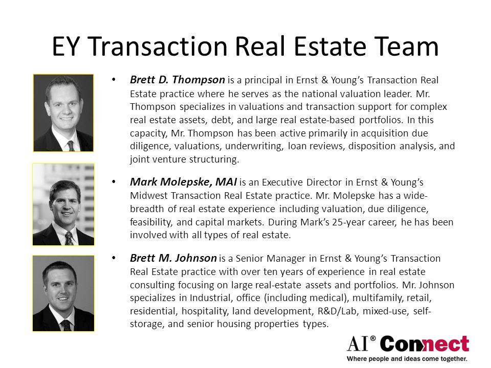 EY Transaction Real Estate Team