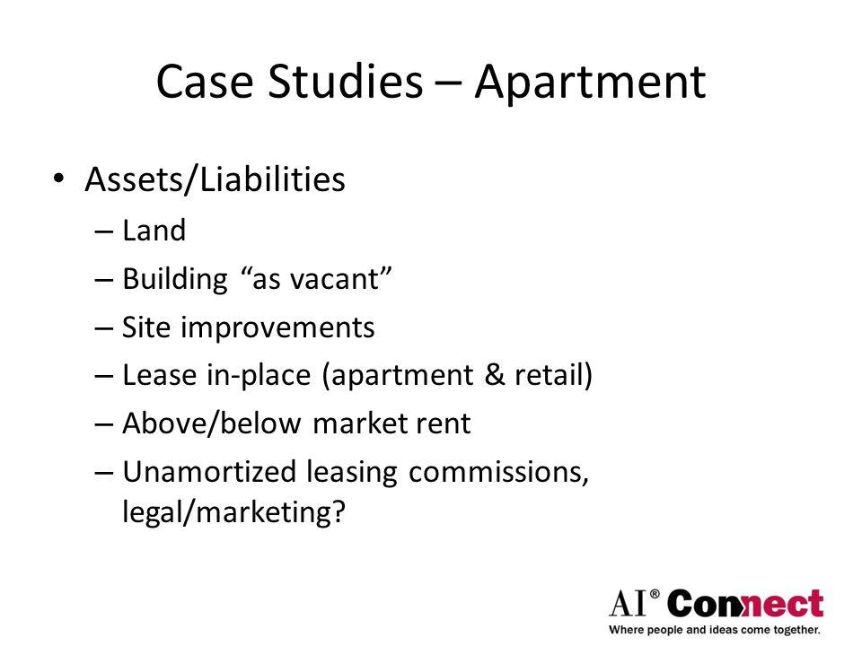 Case Studies – Apartment
