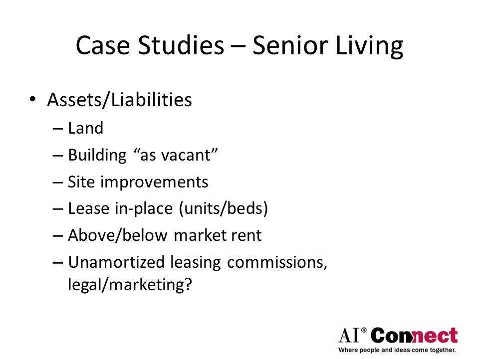 Case Studies – Senior Living