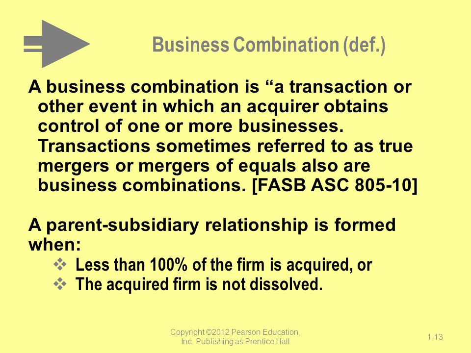 Business Combination (def.)