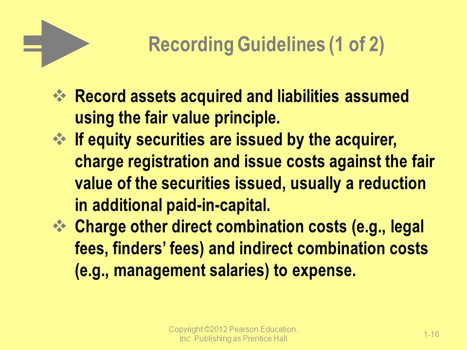 Recording Guidelines (1 of 2)