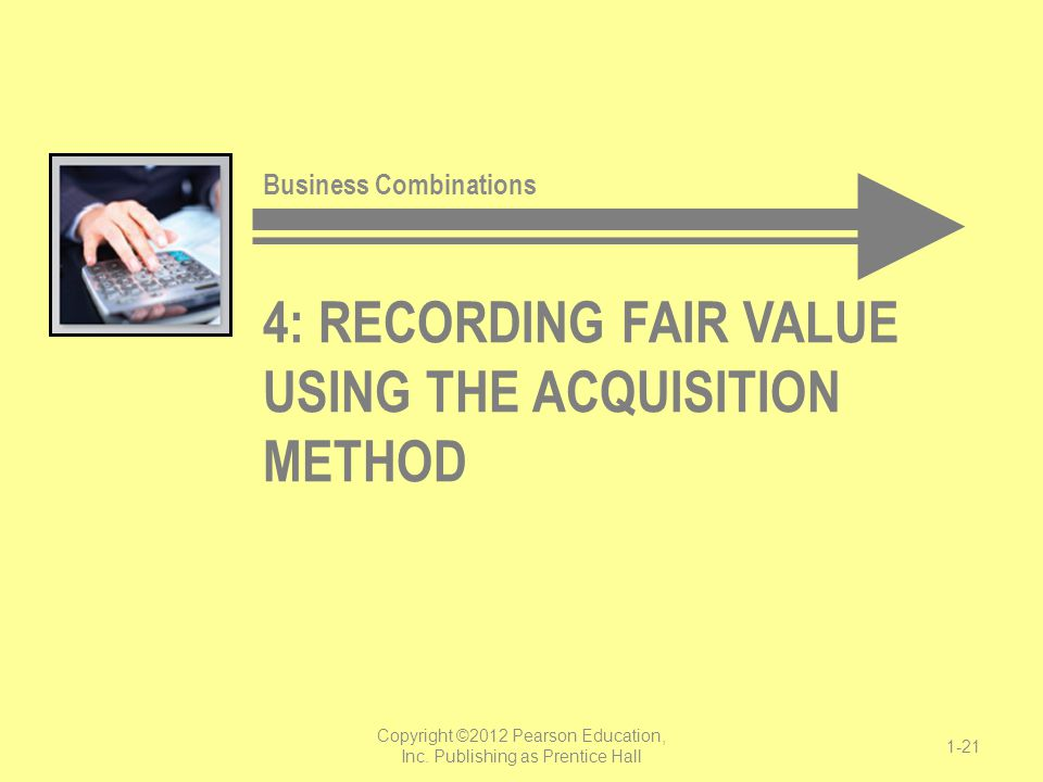 4: Recording fair value Using the Acquisition Method