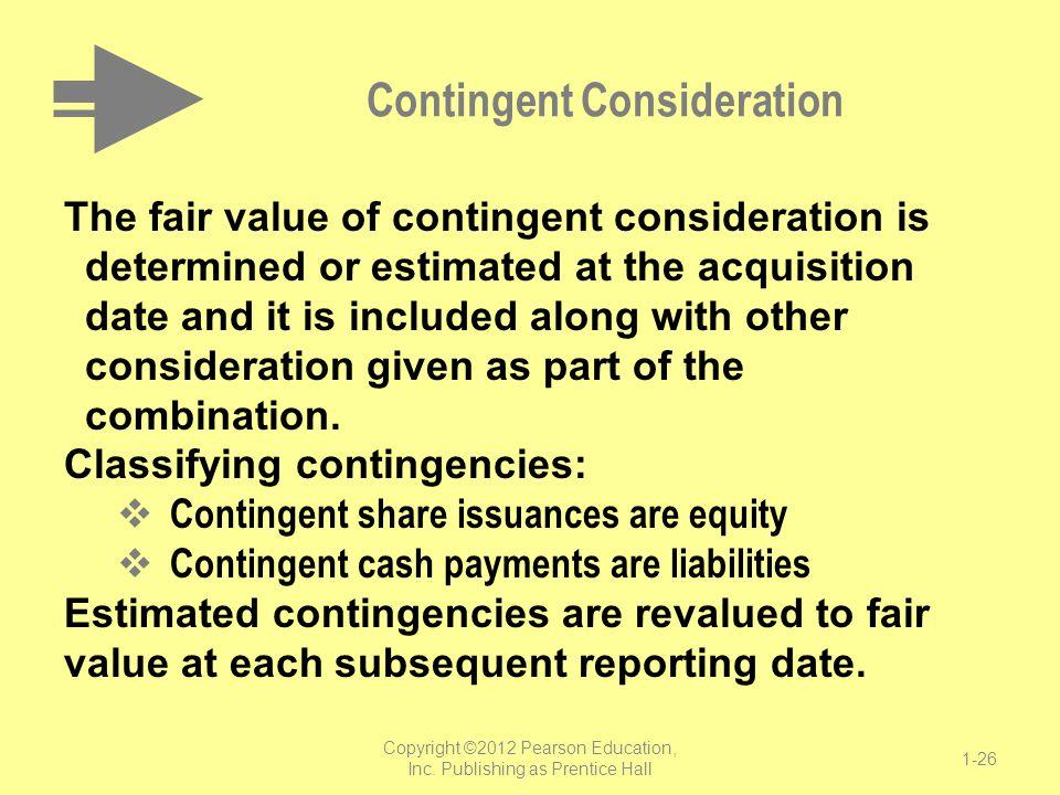 Contingent Consideration