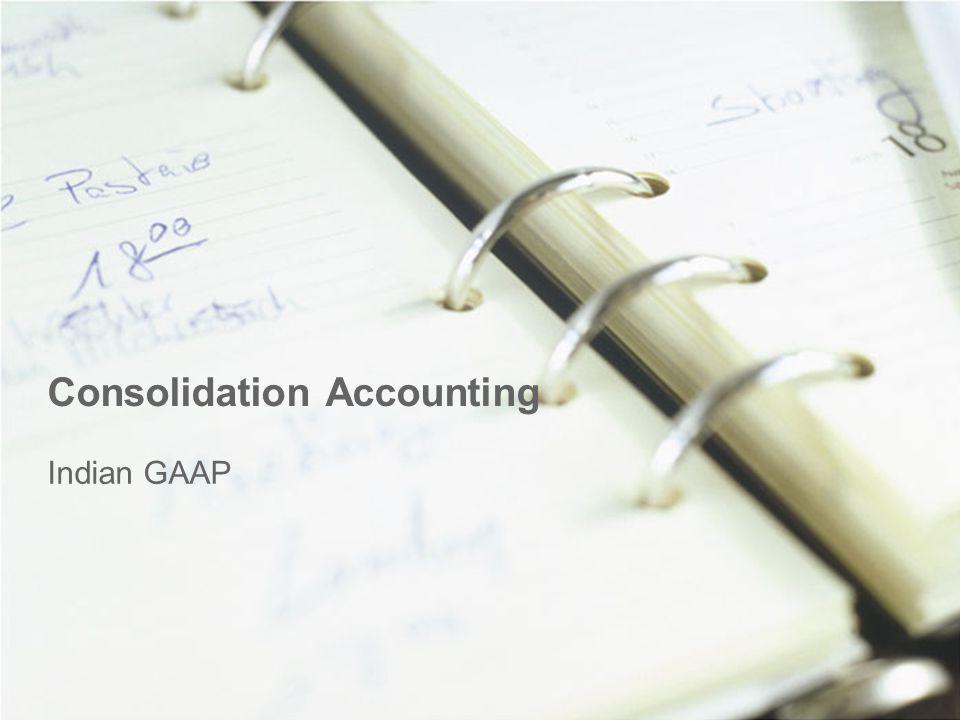 Consolidation Accounting