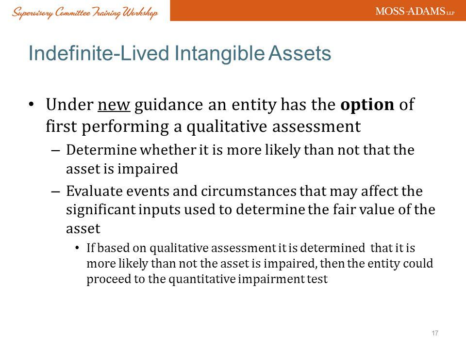 Indefinite-Lived Intangible Assets