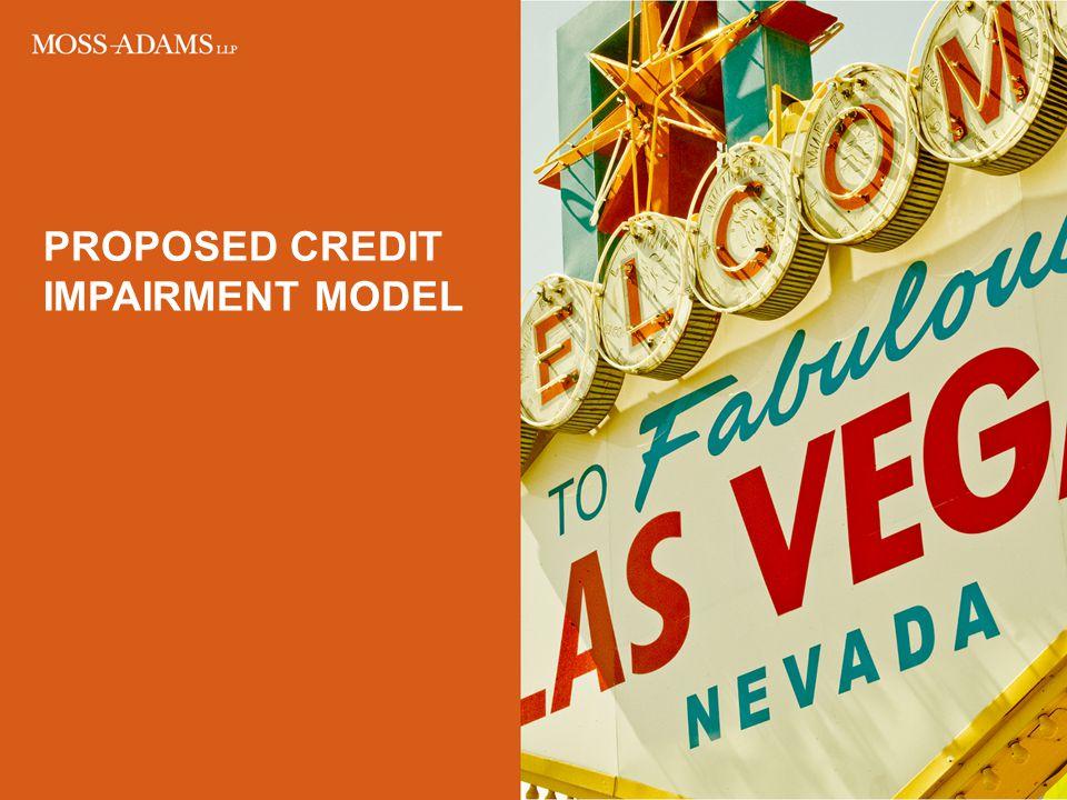 Proposed Credit impairment model
