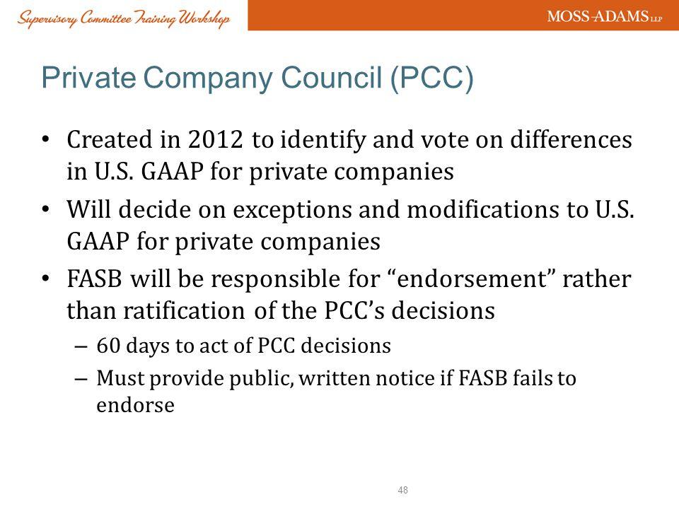 Private Company Council (PCC)