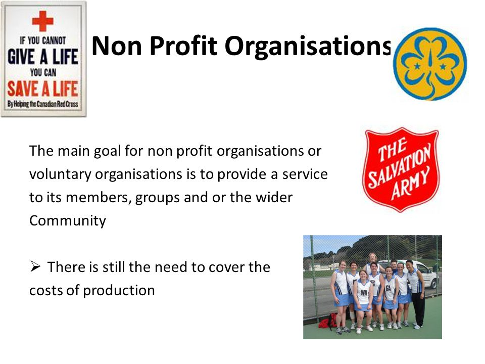 Non Profit Organisations