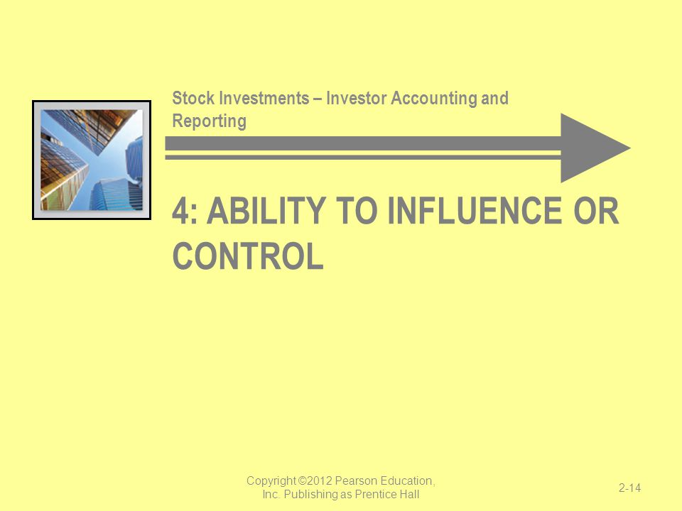 4: Ability to Influence or Control