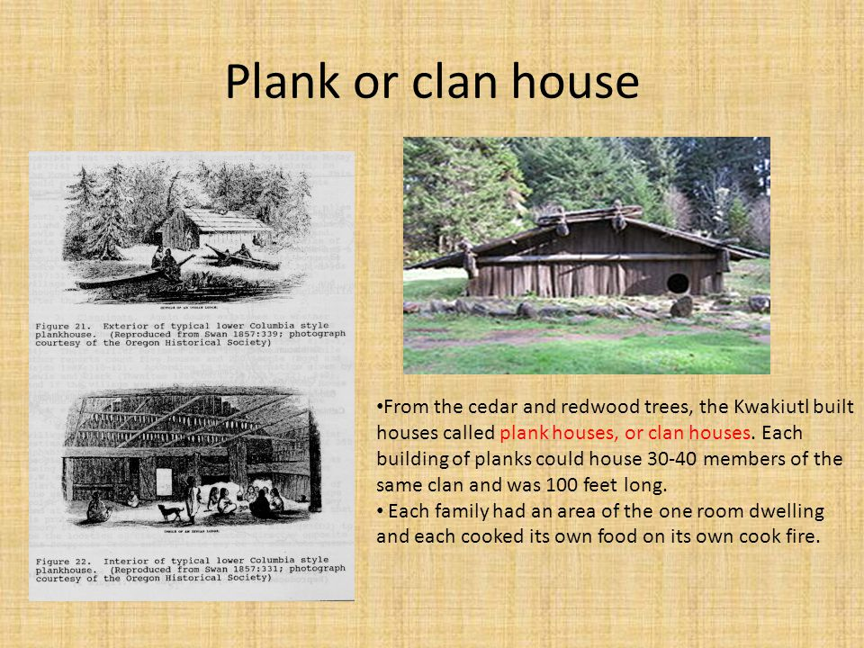 Plank or clan house