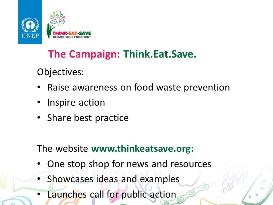 think eat save Thinkeatsave lunch events will be held simultaneously across the country on monday, 27 july 2015, to raise awareness and fight against food waste.