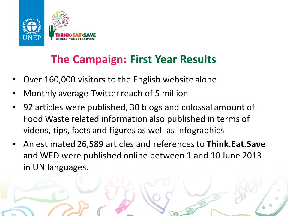The Campaign: First Year Results