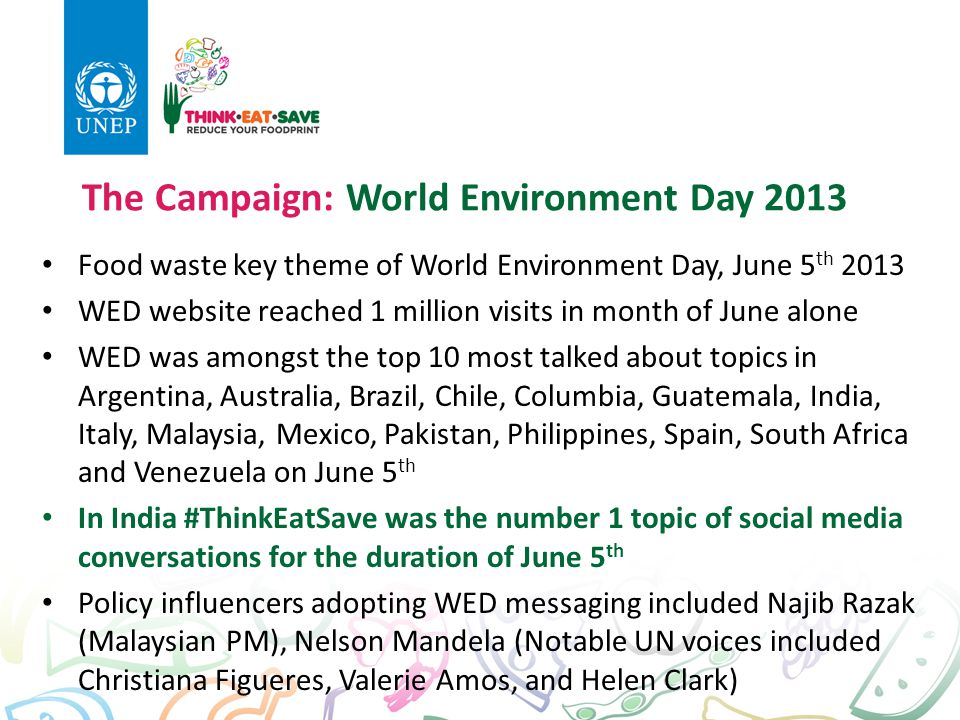 The Campaign: World Environment Day 2013
