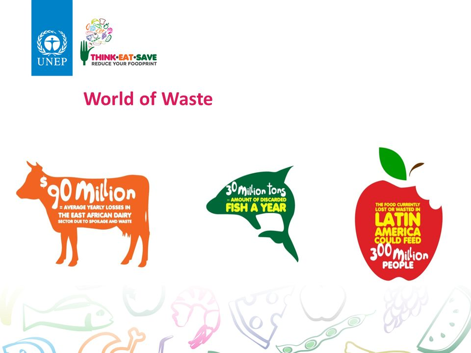 World of Waste $90 million average yearly losses in East African dairy sector due to spoilage and waste.