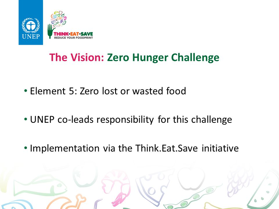 The Vision: Zero Hunger Challenge