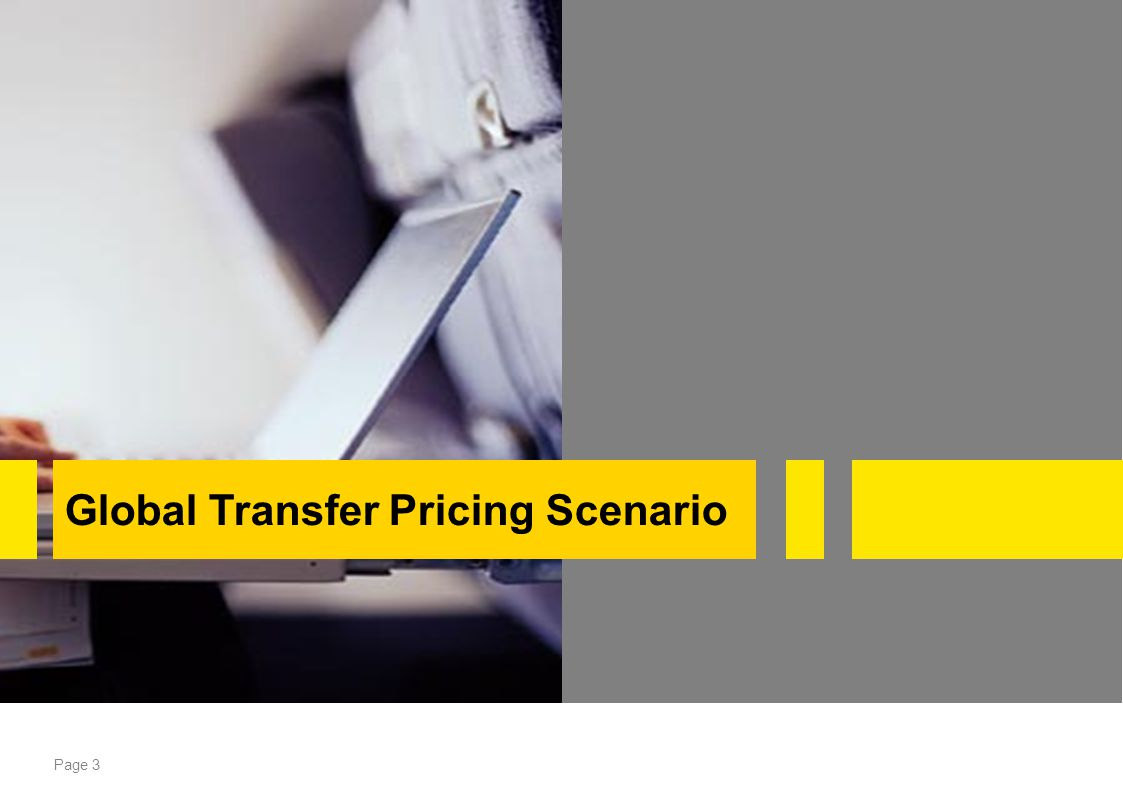 Global Transfer Pricing Scenario