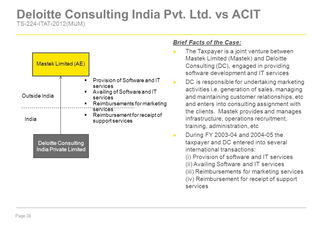 Deloitte Consulting India Pvt. Ltd. vs ACIT TS-224-ITAT-2012(MUM)