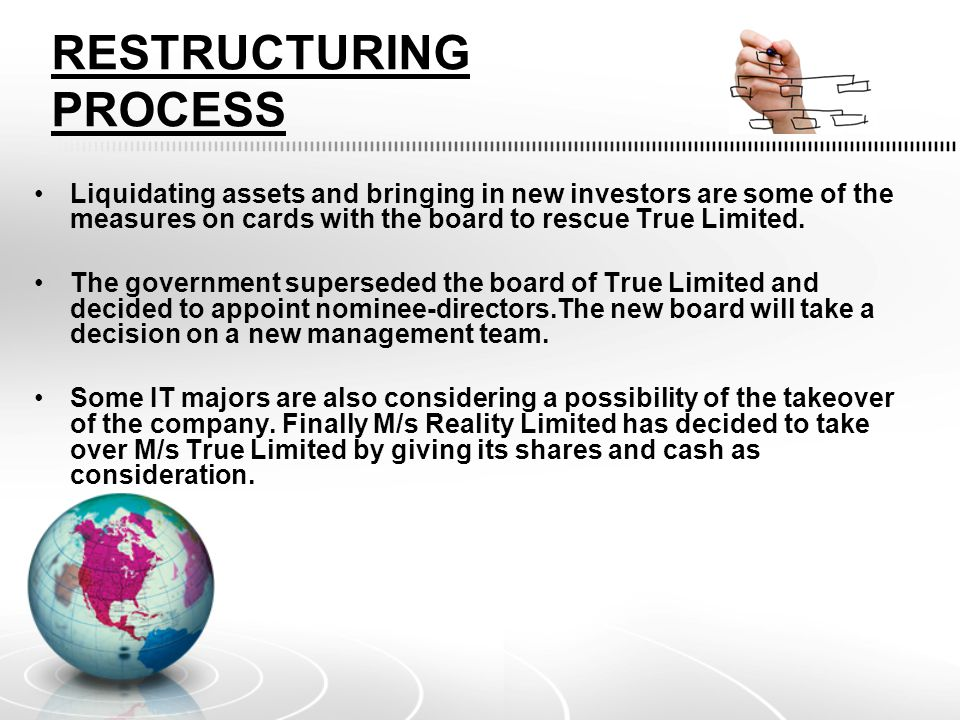 RESTRUCTURING PROCESS