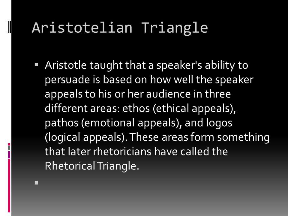 Aristotelian Triangle