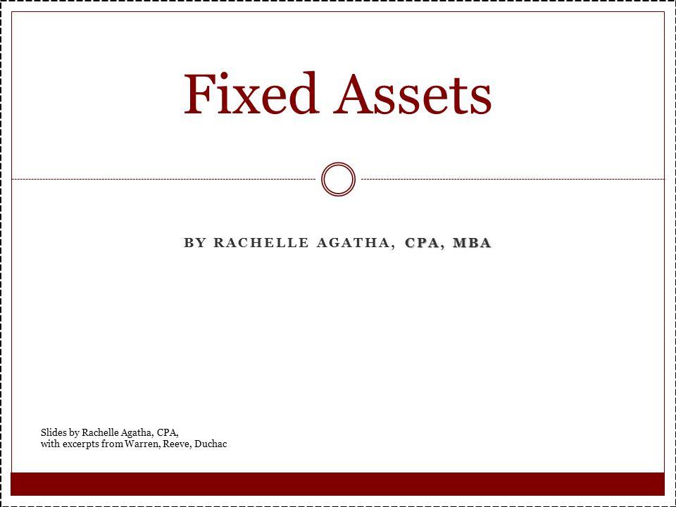 By Rachelle Agatha, CPA, MBA