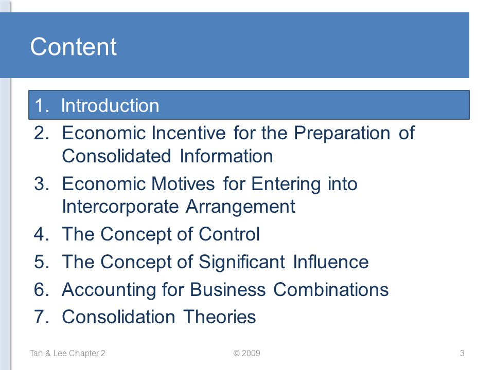 Content 1. Introduction Introduction
