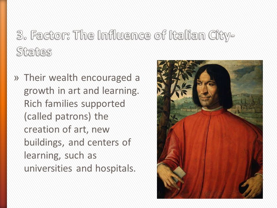 3. Factor: The Influence of Italian City-States
