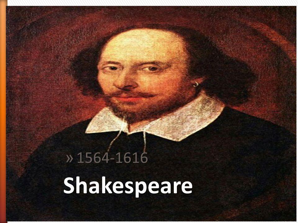 1564-1616 Shakespeare