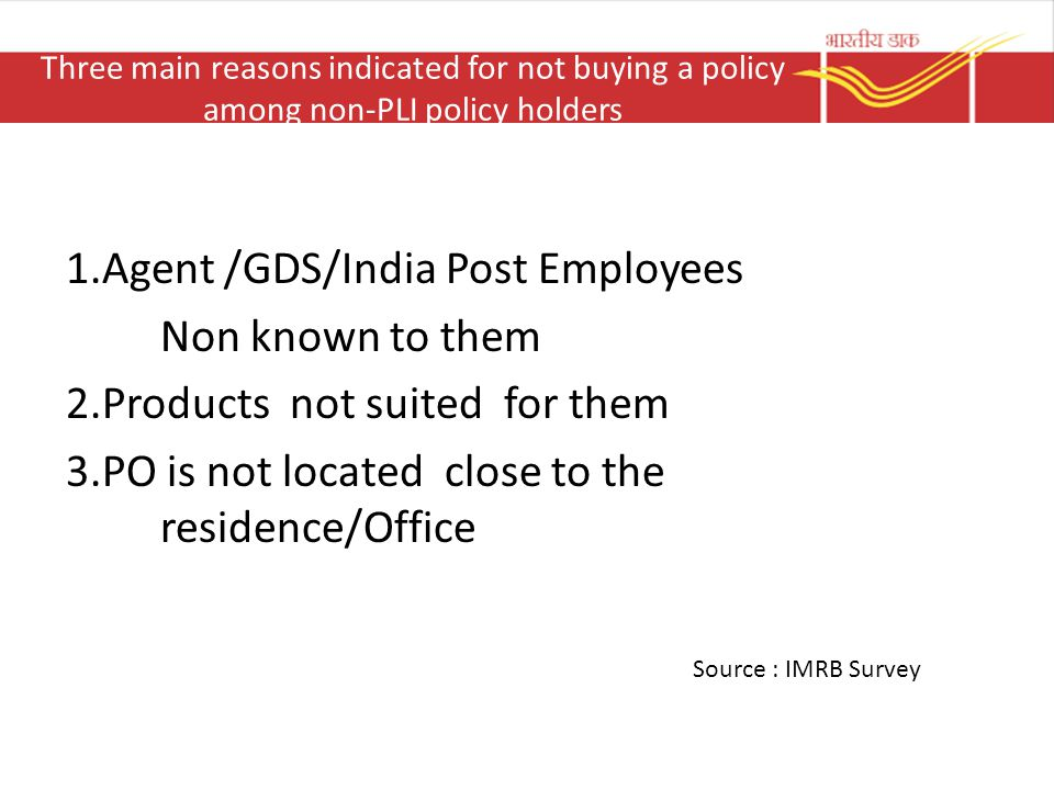 1.Agent /GDS/India Post Employees Non known to them