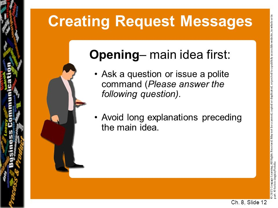 Creating Request Messages