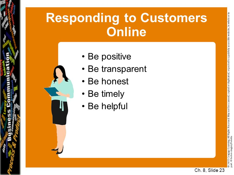 Responding to Customers Online