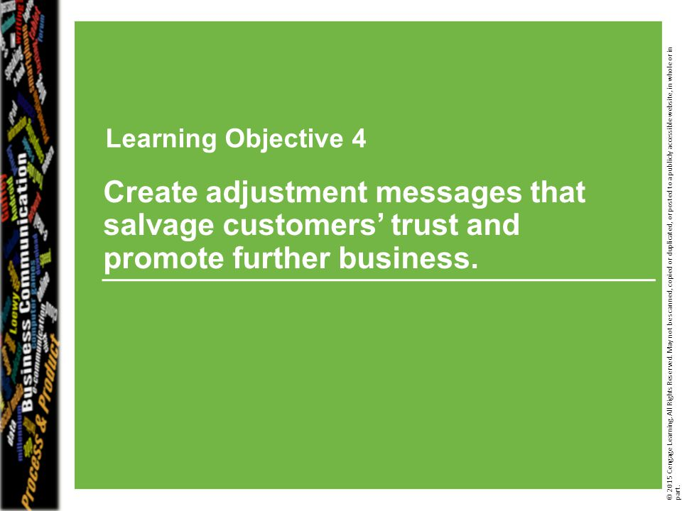 Learning Objective 3 Learning Objective 4.