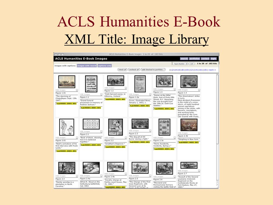 ACLS Humanities E-Book XML Title: Image Library
