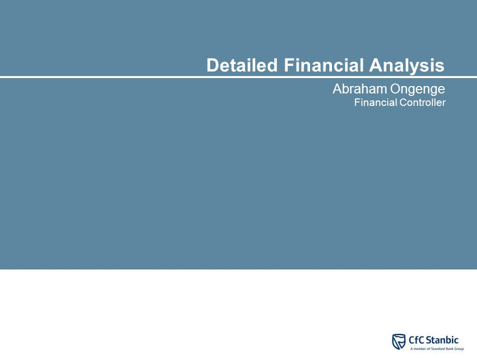 CfC Stanbic Holdings Ltd ('Group') in brief
