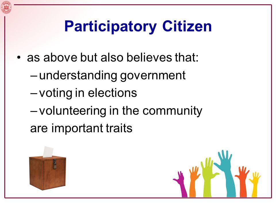 Participatory Citizen