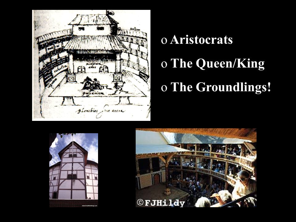 Aristocrats The Queen/King The Groundlings!