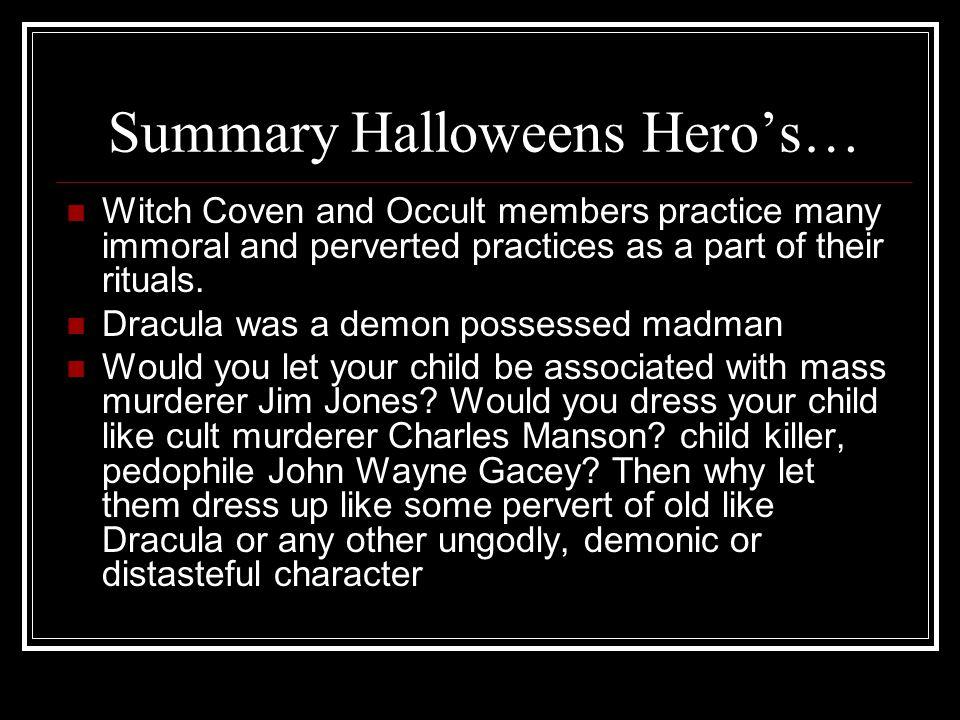 Summary Halloweens Hero's…