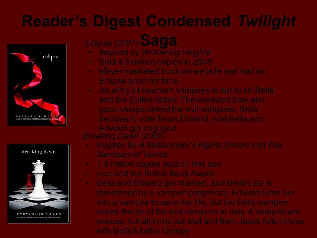 Reader's Digest Condensed Twilight Saga