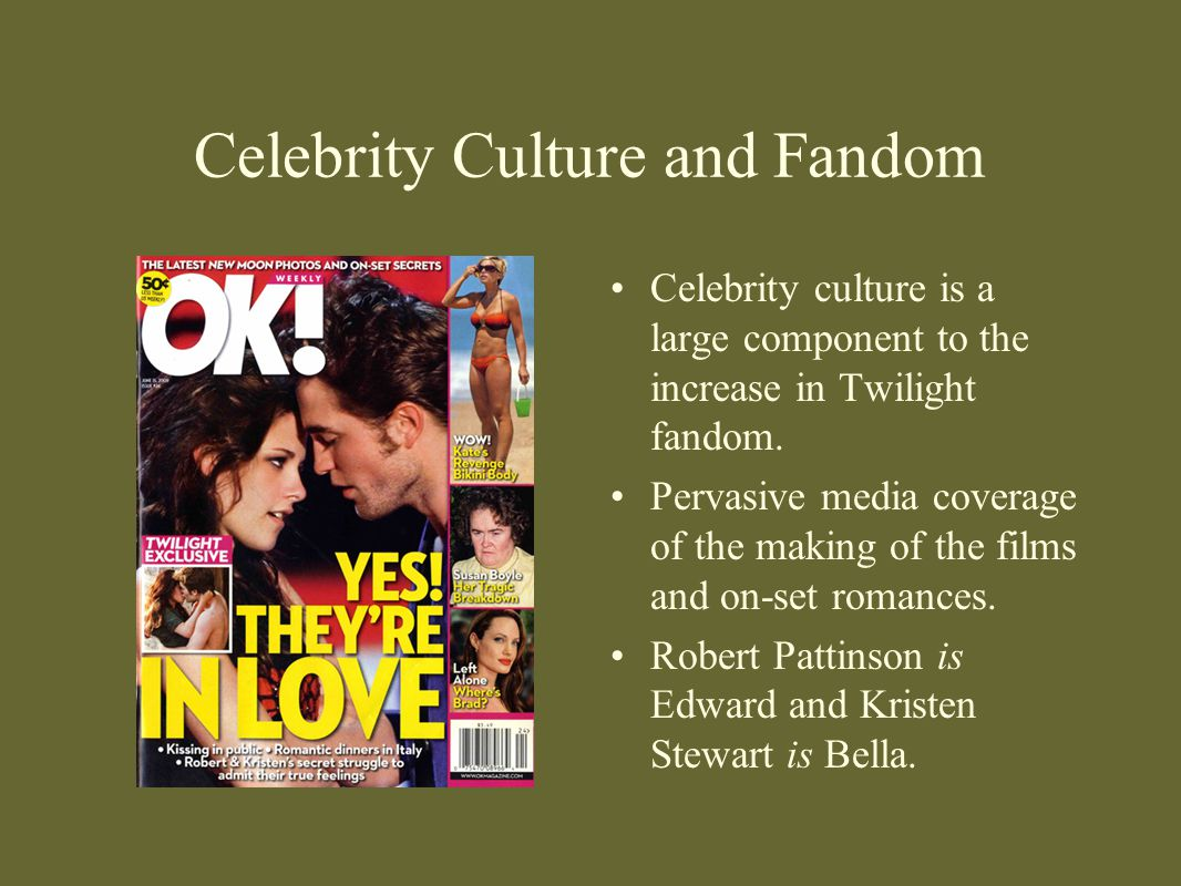 Celebrity Culture and Fandom
