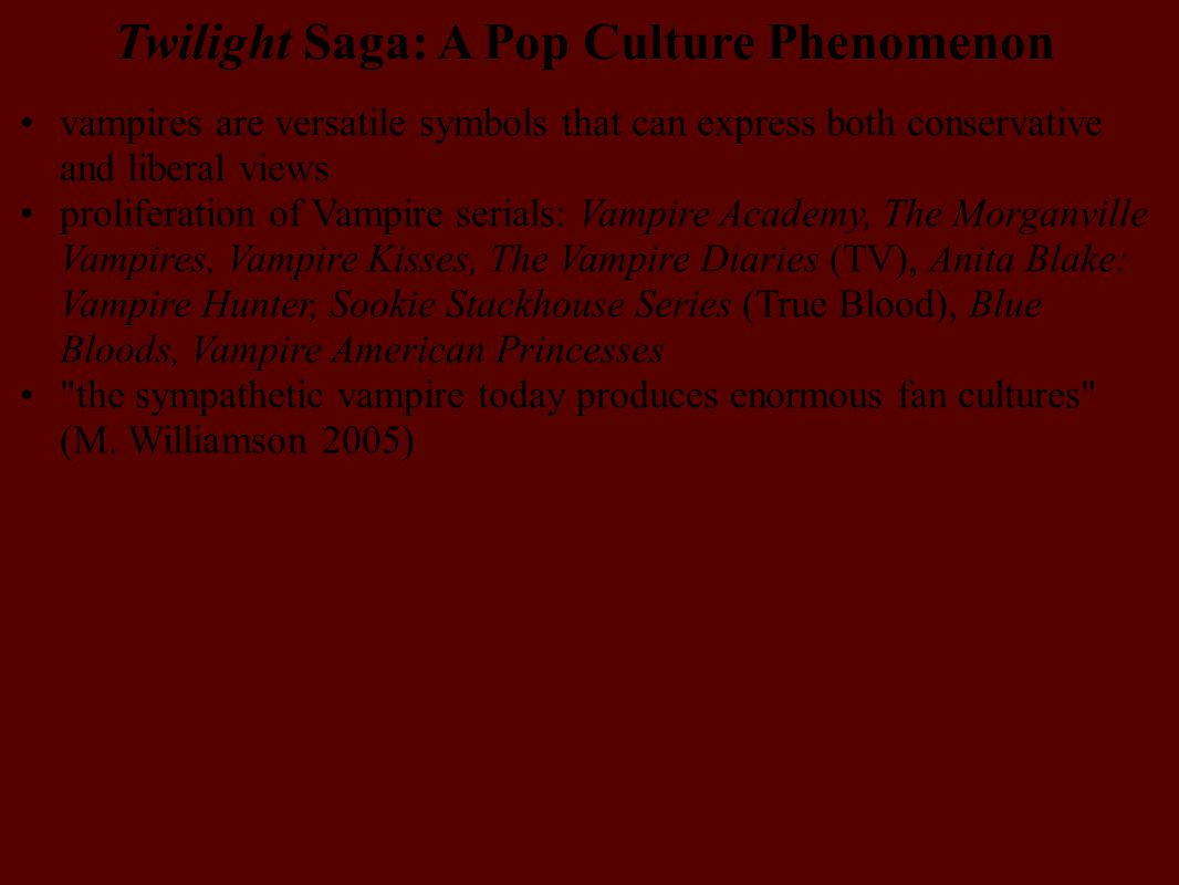 Twilight Saga: A Pop Culture Phenomenon