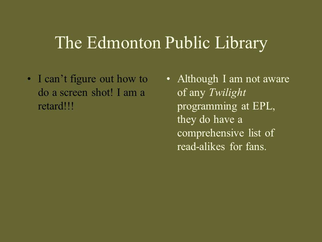 The Edmonton Public Library