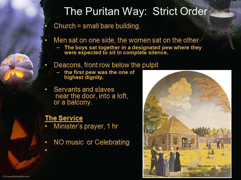 The Puritan Way: Strict Order