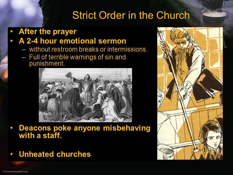 Strict Order in the Church