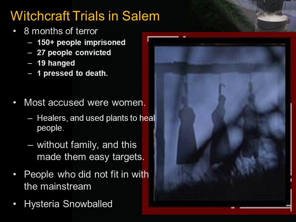 Witchcraft Trials in Salem