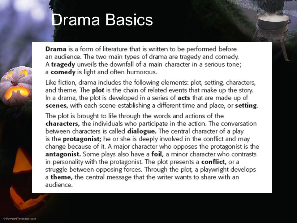 Drama Basics
