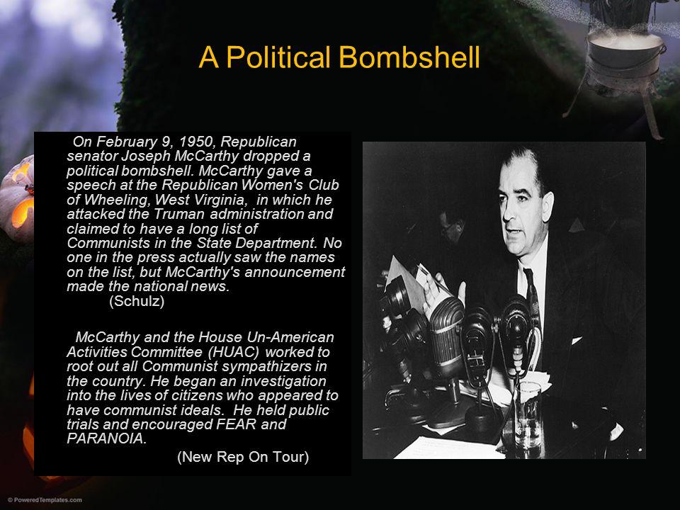 A Political Bombshell