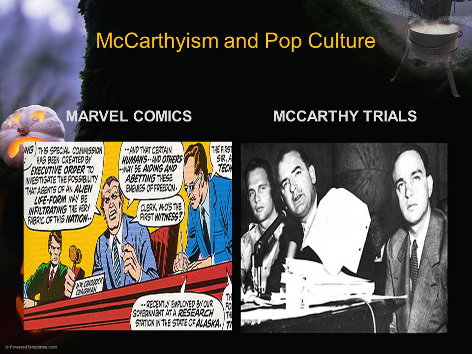 McCarthyism and Pop Culture