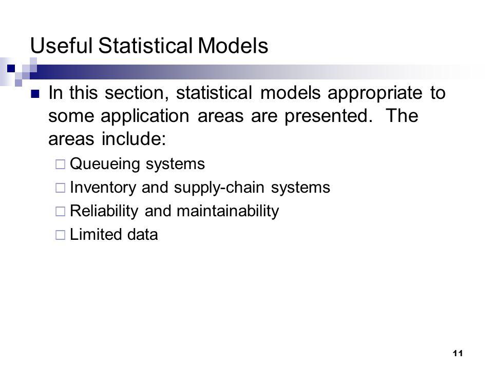 Useful Statistical Models