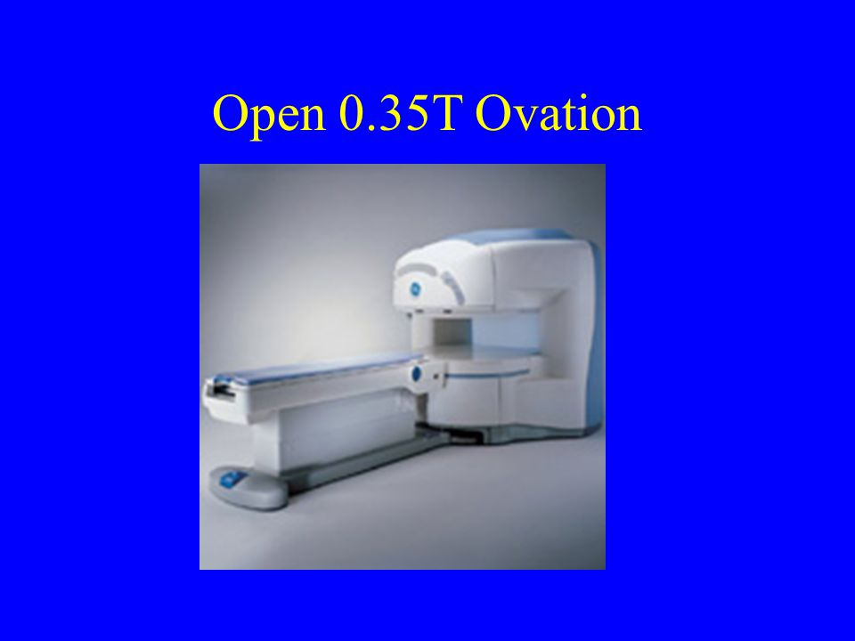 Open 0.35T Ovation