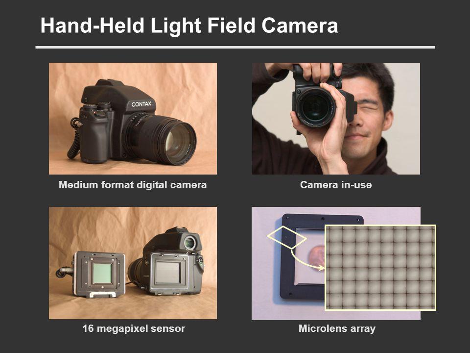 Hand-Held Light Field Camera