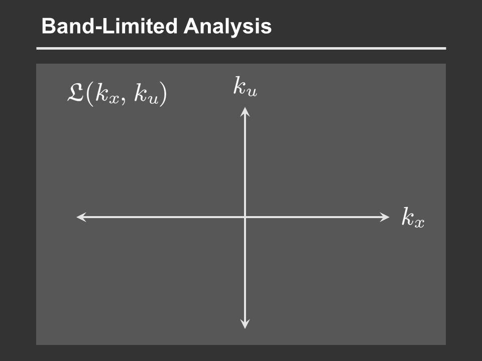 Band-Limited Analysis